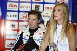 Scott Redding, Pramac Racing con su novia