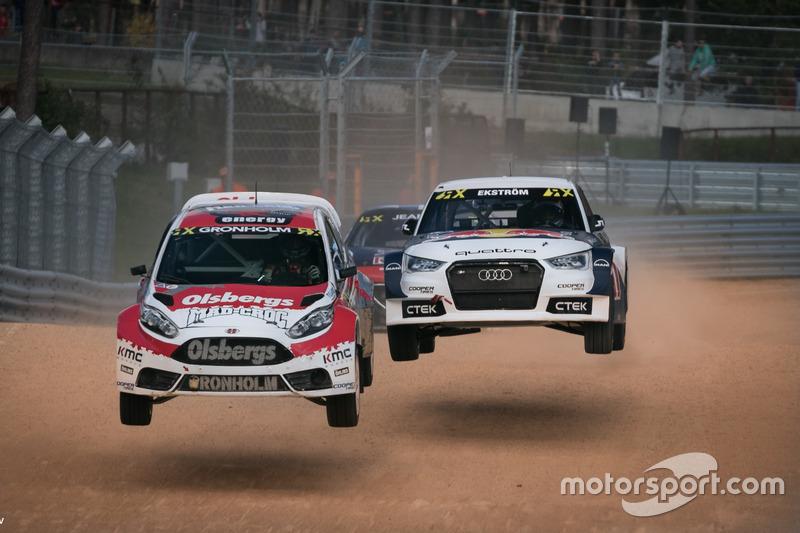Никлас Грёнхольм, Ford, и Маттиас Экстрем, Audi