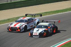 Pastorelli-Pastorelli, Krypton Motorsport, Porsche 911 GT3 R #53 e Linossi-Bontempelli, Drive Technology Italia, Nissan Nismo S.GT3 #23