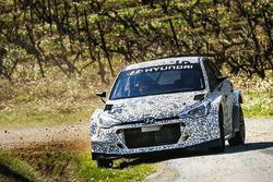 Kevin Abbring et Sebastian Marshall, Hyundai i20 R5, Hyundai Motorsport