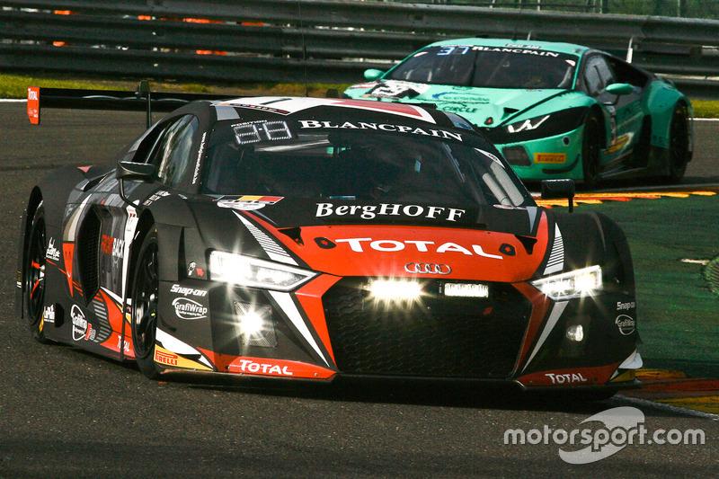 1 Belgian Audi Club Team WRT, Audi R8 LMS: Will Stevens, Dries Vanthoor, Frédéric Vervisch