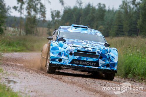 M-Sport Ford Fiesta WRC, test su terra