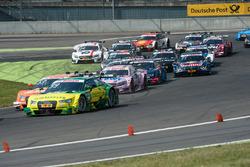 Start, Mike Rockenfeller, Audi Sport Team Phoenix, Audi RS 5 DTM