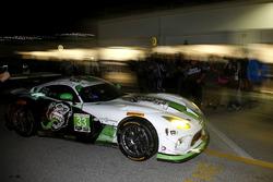 #33 Riley Motorsports SRT Viper GT3-R: Ben Keating, Jeroen Bleekemolen, Marc Miller, Dominik Farnbacherou from the gerage