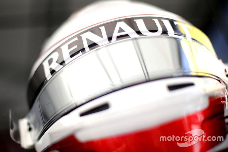 Helm von Kevin Magnussen, Renault Sport F1 Team