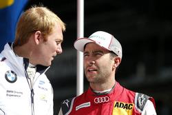 Maxime Martin, BMW Team RBM, BMW M4 DTM und Mike Rockenfeller, Audi Sport Team Phoenix, Audi RS 5 DT