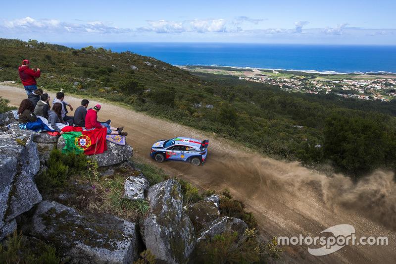 Хейден Пэддон и Себастьян Маршалл, Hyundai i20 WRC