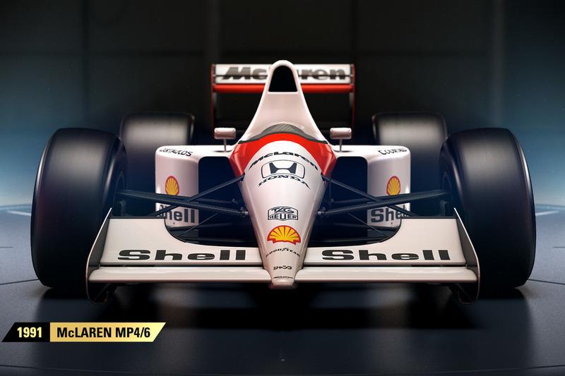 1991 McLaren MP4/6
