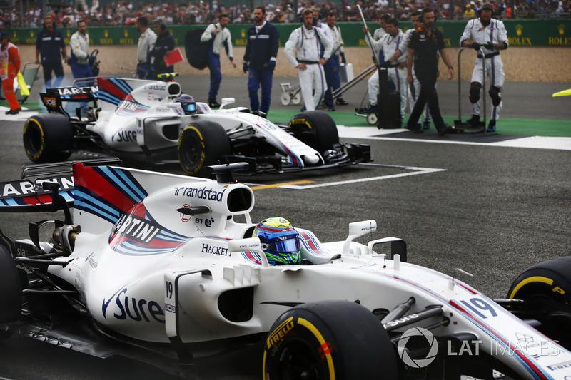 E foi a primeira vez que Stroll terminou uma corrida à frente de Massa. Até então, estava 5 a 0 em favor do brasileiro, contabilizando apenas as provas em que ambos receberam a bandeirada.