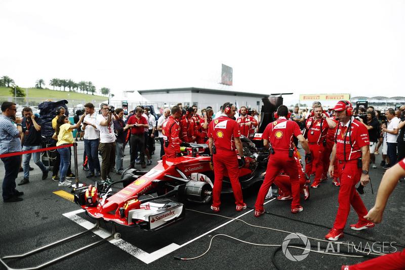El mal se contagia en Ferrari