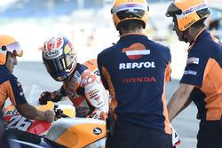 Dani Pedrosa, Repsol Honda Team, Bikewechsel