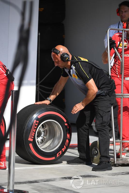 Інженер та гума Pirelli