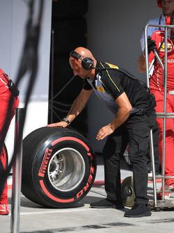 Pirelli engineer, Pirelli tyre