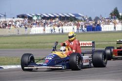 Найджел Мэнселл, Williams FW14 и Айртон Сенна, McLaren MP4/6