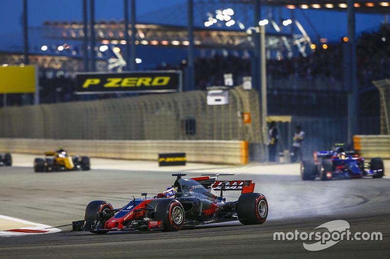 Ромен Грожан, Haas F1 Team VF-17, Карлос Сайнс-молодший, Toro Rosso STR12