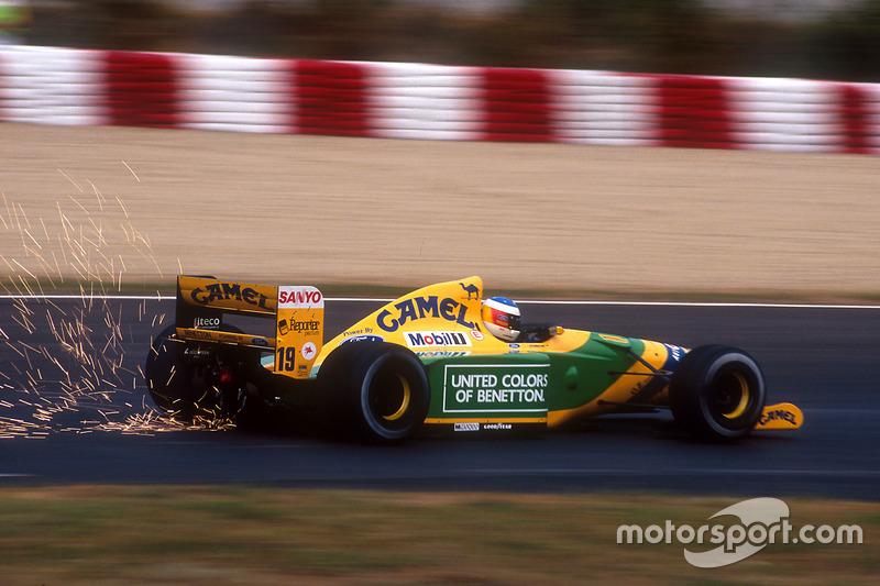 Міхаель Шумахер, Benetton B192 Ford