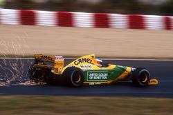 Funkenflug: Michael Schumacher, Benetton B192