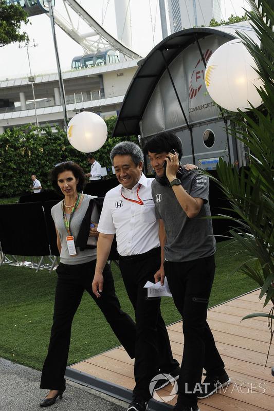 Masashi Yamamoto, Honda-Chef