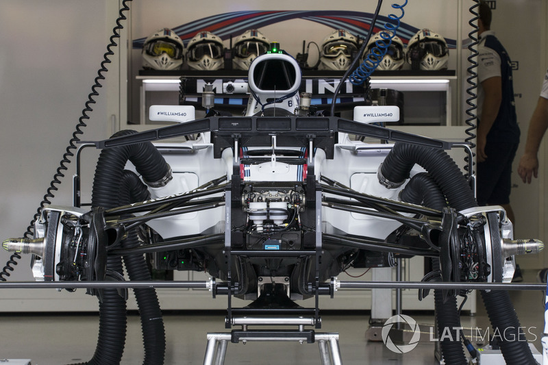 Williams FW40, Vorderradafhängung