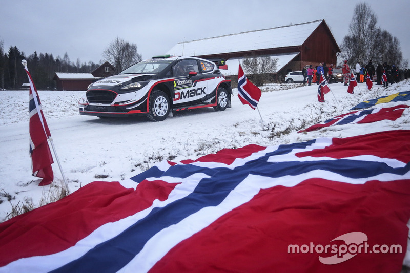 Elfyn Evans, Daniel Barritt, Ford Fiesta WRC, M-Sport, M-Sport Ford