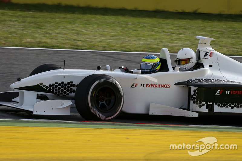 Zsolt Baumgartner, F1 Experiences 2-Seater driver and F1 Experiences 2-Seater passenger