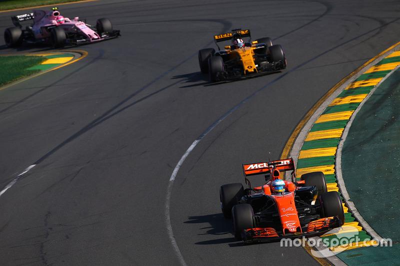 Fernando Alonso, McLaren, MCL32