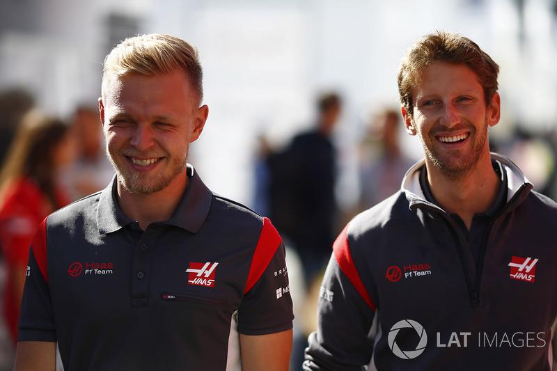 Ромен Грожан, Кевін Магнуссен, Haas F1 Team