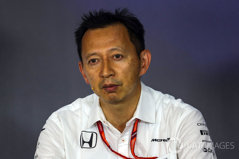 Юсуке Хасегава, керівник програми Honda в Ф1
