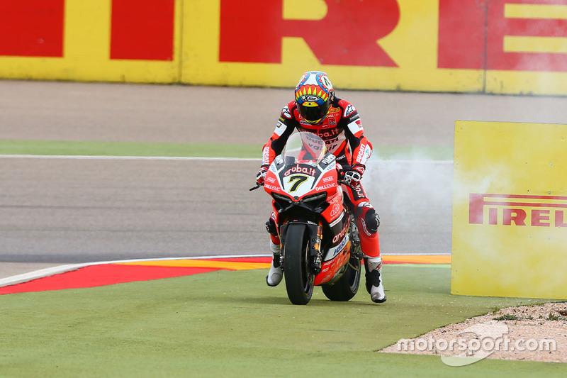 Defekt: Chaz Davies, Ducati Team