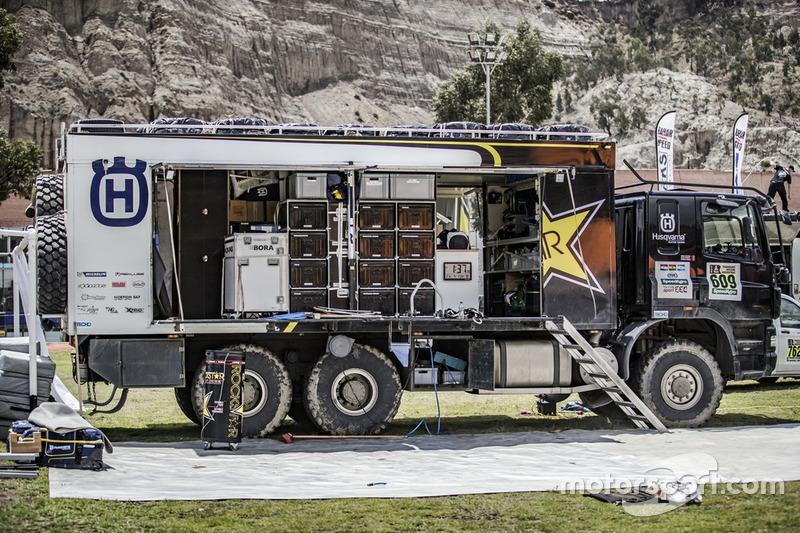 Camión del Husqvarna Factory Racing