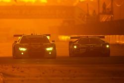 #57 Stevenson Motorsports Audi R8 LMS GT3: Andrew Davis, Lawson Aschenbach, Matt Bell, #66 Ford Performance Chip Ganassi Racing Ford GT: Joey Hand, Dirk Müller, Sébastien Bourdais