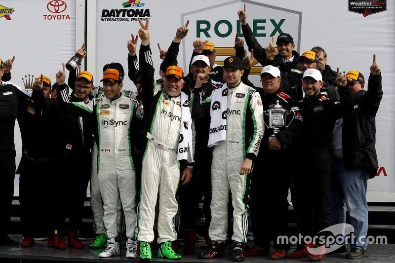 Ganador GTD: #28 Alegra Motorsports Porsche 911 GT3 R: Daniel Morad, Jesse Lazare, Carlos de Quesada
