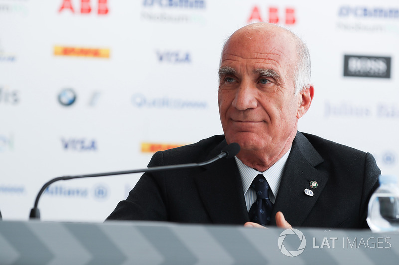 Angelo Sticchi Damiani, President of ACI, in the press conference