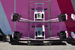 Nariz y alerón delantero del Force India VJM11
