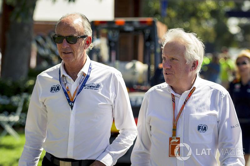 Гоночний директор FIA Чарлі Вайтінг