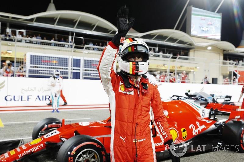 Polesitter Sebastian Vettel, Ferrari SF71H