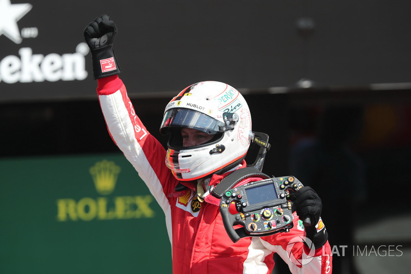 3º Sebastian Vettel (51 victorias)