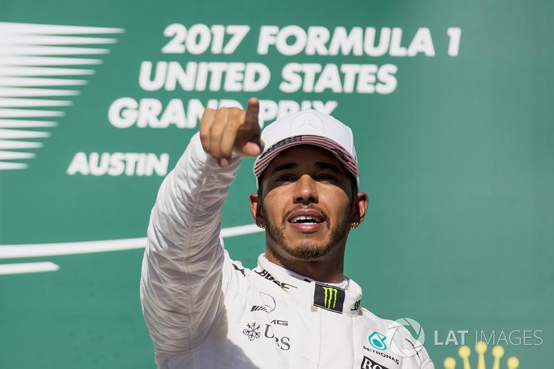 Birleşik Devletler GP - Kazanan: Lewis Hamilton