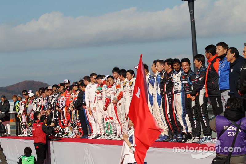 Honda Racing Día de Gracias Ceremonia