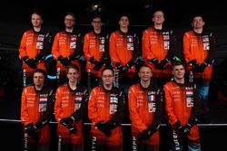 Mika Hakkinen with McLaren World's Fastest Gamer participants
