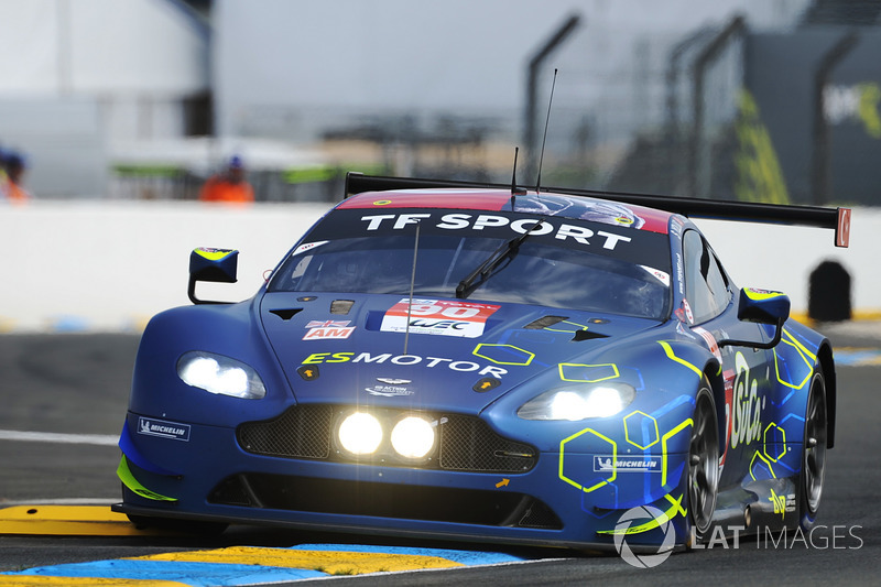 6. LMGTE-Am: #90 TF Sport, Aston Martin Vantage