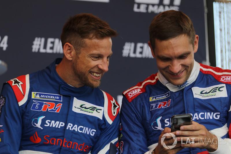 Jenson Button, Vitaly Petrov, SMP Racing