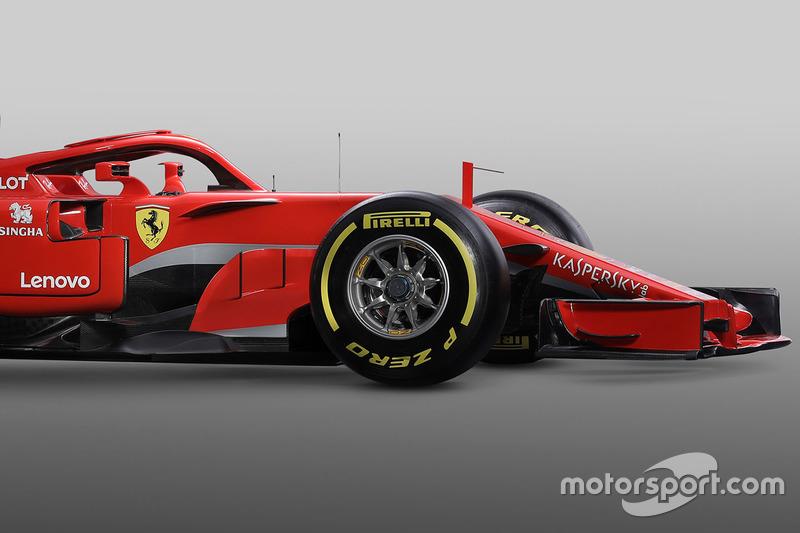 Ferrari SF71H ön detay