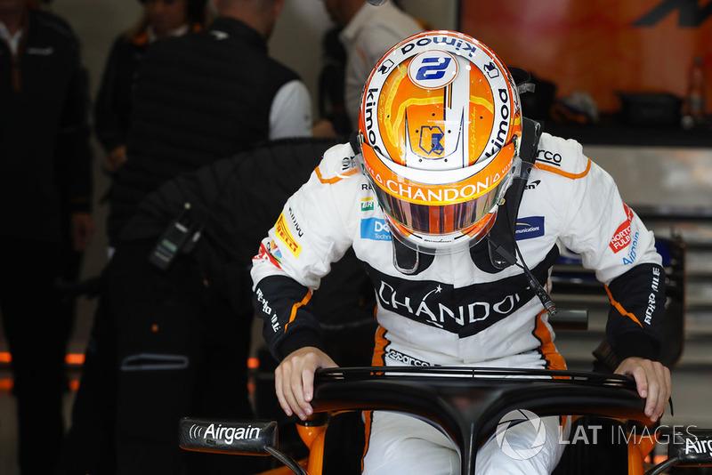 GP Belgia - Stoffel Vandoorne