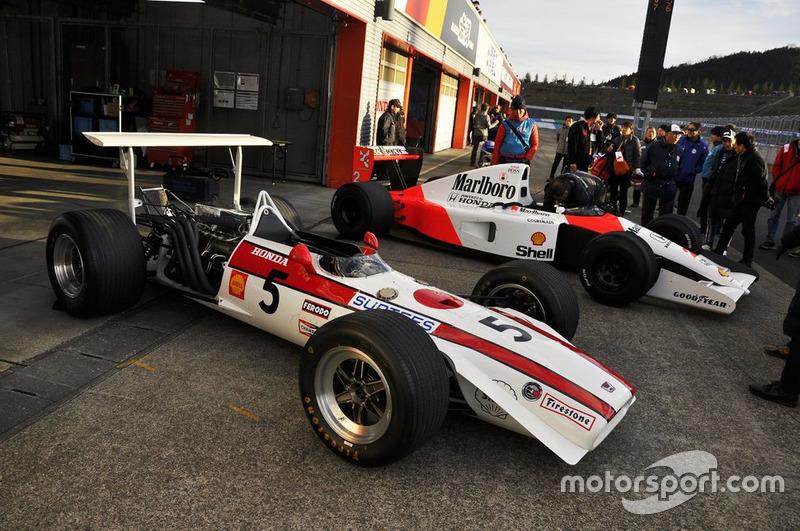 Honda RA 301 y McLaren-Honda MP4/6