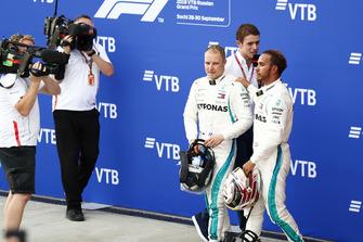 Race winner Lewis Hamilton, Mercedes AMG F1, secodn place Valtteri Bottas, Mercedes AMG F1