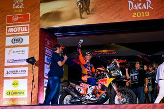 Podio: Red Bull KTM Factory Racing KTM: Luciano Benavides