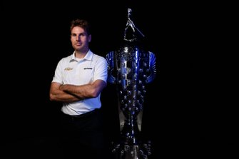 Power with Borg-Warner Trophy - Indianapolis Motor Speedway