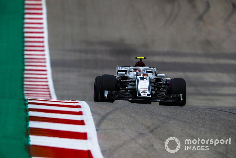 13. Charles Leclerc, Sauber C37