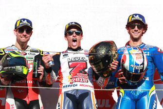 Cal Crutchlow, Team LCR Honda, Marc Marquez, Repsol Honda Team, Alex Rins, Team Suzuki MotoGP